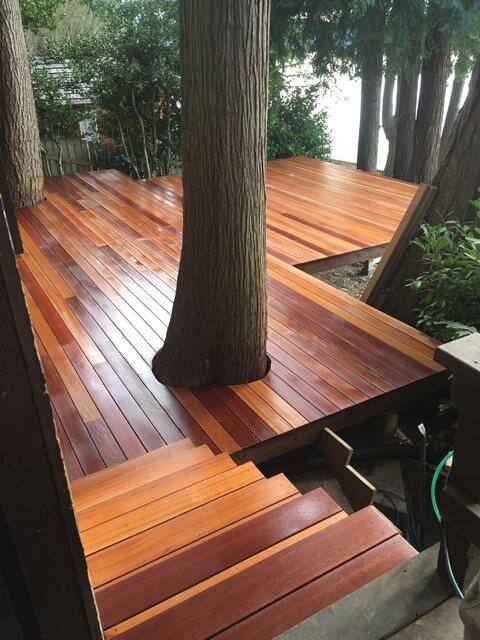 custom designed decks